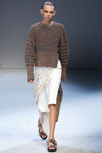 pfw, ss2016, esteban cortazar, outer layer chain mail