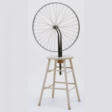 pop art, Duchamp.-Bicycle-Wheel