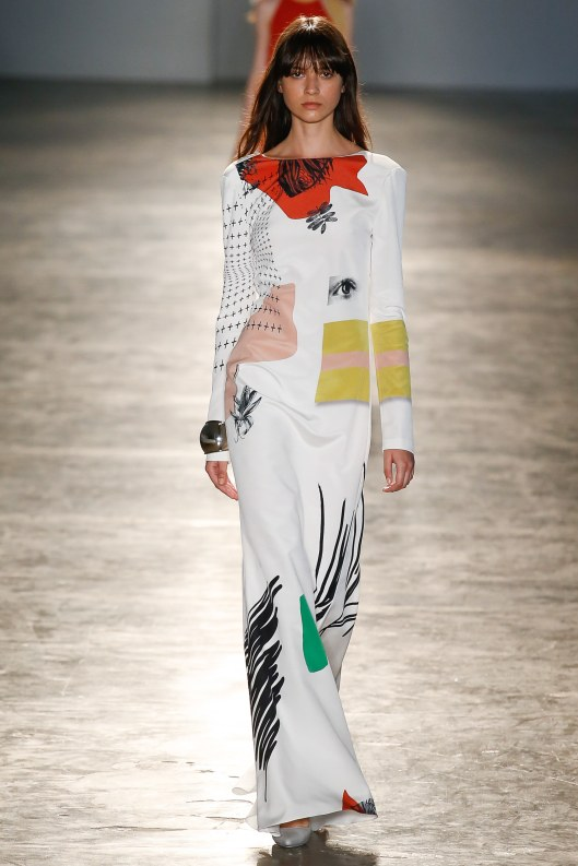 sao paulo fashion week, f16, animale, maxi dres, graphic