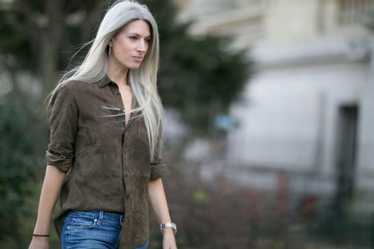 suede, shirt, muddy grey? fashionsita.com