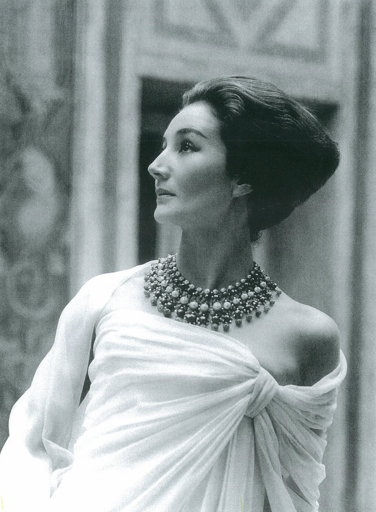 countess de ribes, in dior, 1959,