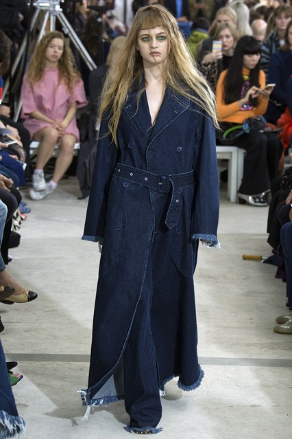 denim wear, marques almeida, trench, lady, s 16 _ALM0480_426x639_1