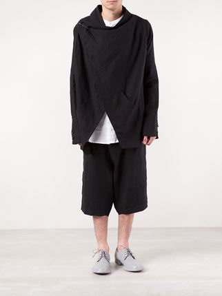 isabel benenato, men draped jacket, farfetch