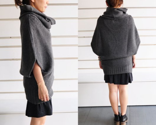 isabel benenato, womens, jumper, cowl neck culdeparis.