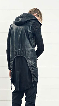 isabel benenato, men, jacket with drawstring detail to back f 12, noovoeditions.com