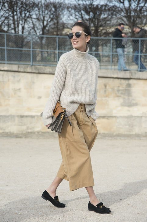 knitwear, chunky jumper, glamour fashionthe-fixer-sweater-street-style-h724