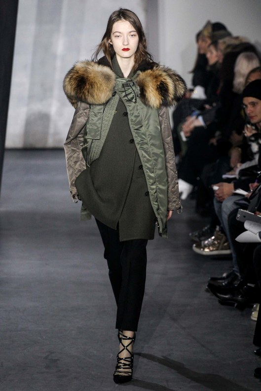 phillip lim, a15, jacket, fur trimmed hood, MARC0825