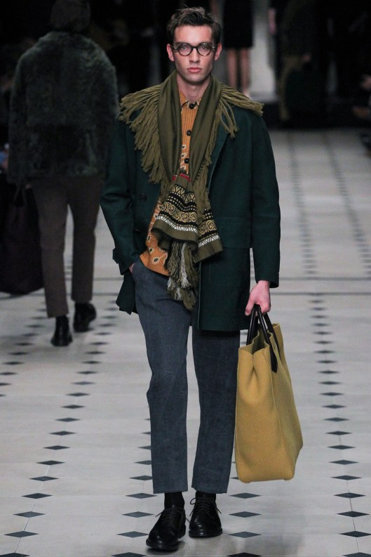 scarf fashion, menswear, burgerry prorsum,