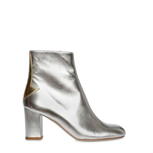 camilla-elphick-silver metallic-leather-boots, side view, endoucrce.com