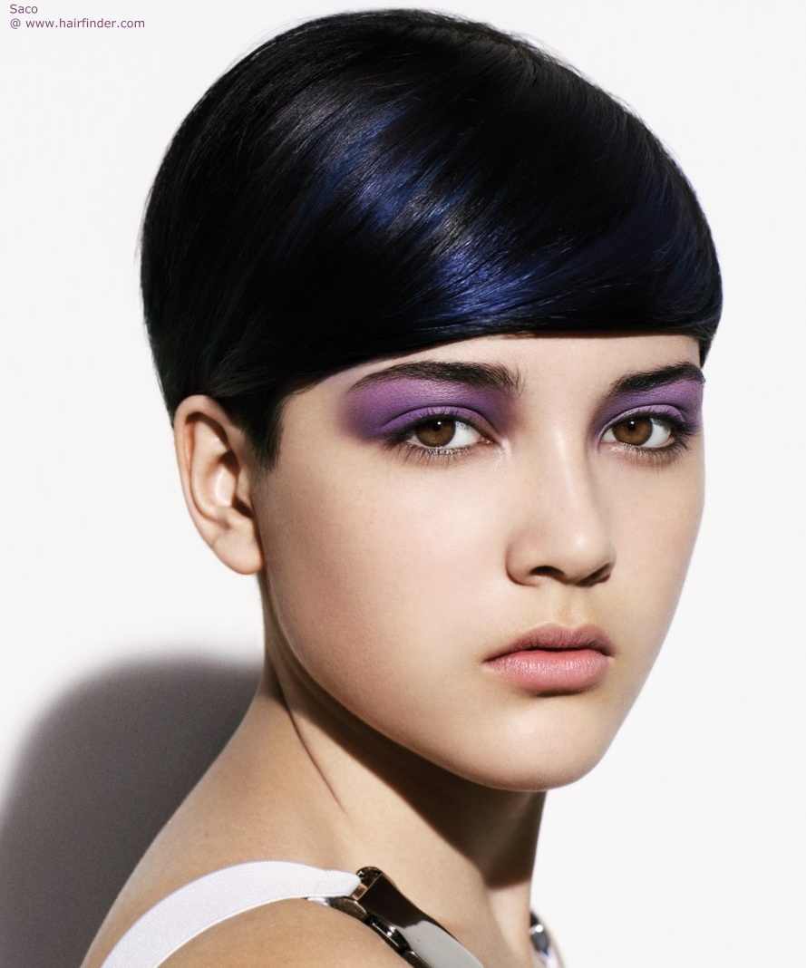 hair fashion, helmut, younecom Short-Dark-Hairstyle-hairfinder-com ...