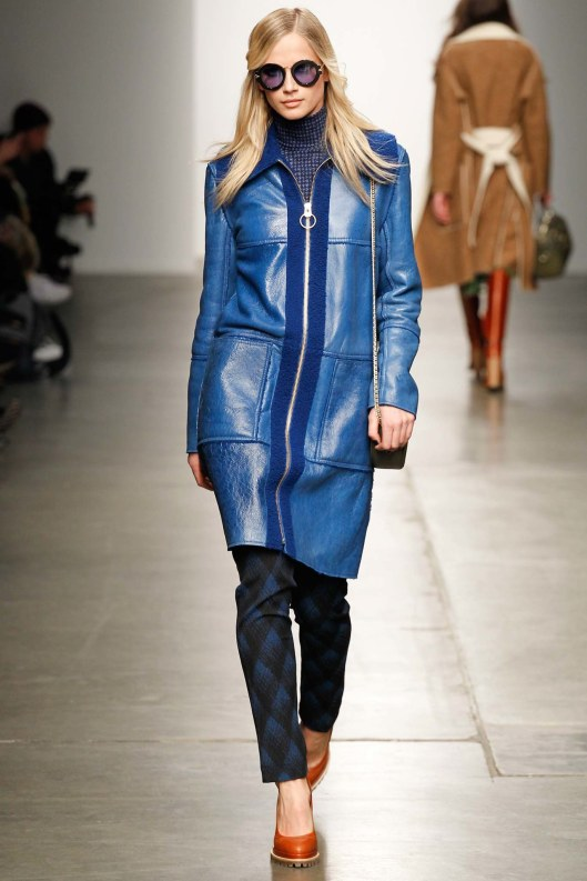 karen walker, fall 2015, blue attitude