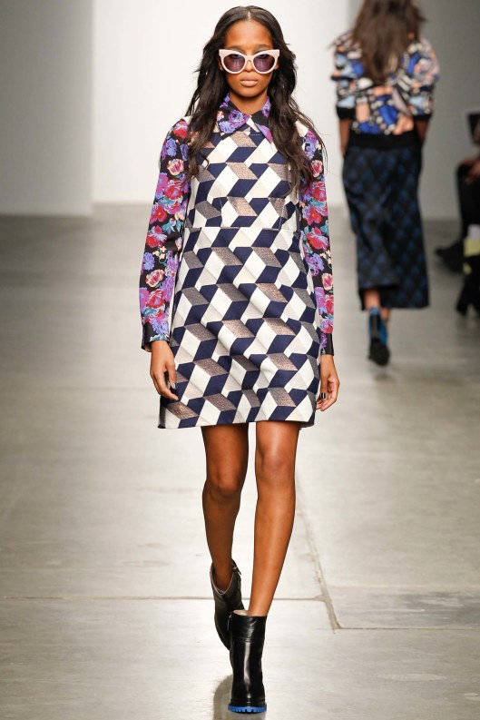 karen walker, fall 2015, mixed print