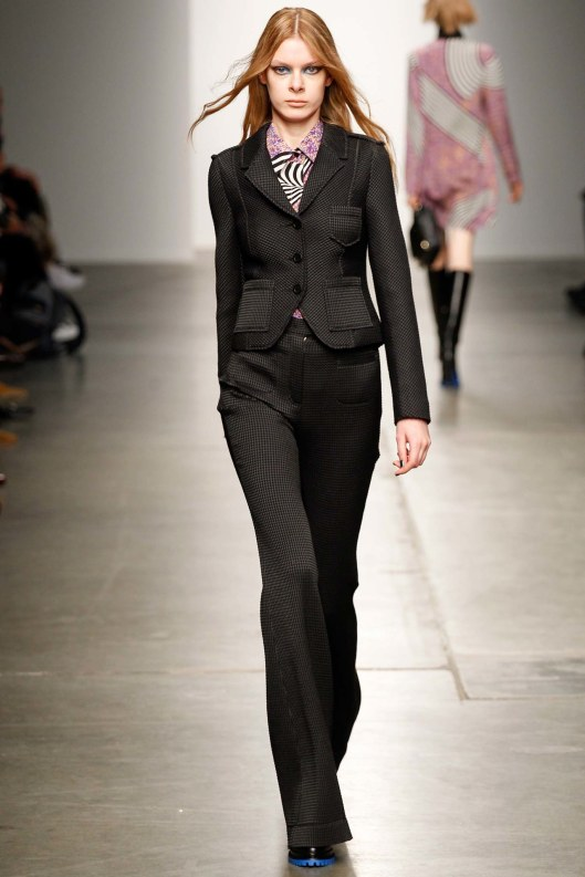 karen walker, fall 2015, suiting