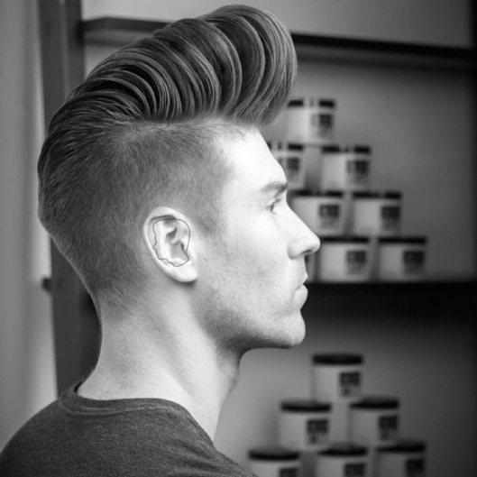 men, hair fashion, fade_pompadour, menshairstyletrendscom