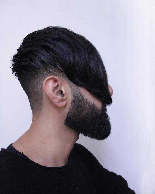 men, hair fashion, fringe_beard, menshairstyletrends