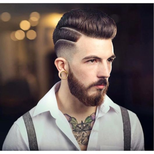 men, hair fashion, menhairstyletrendscom braidbarbers_high-lo-fade-medium-pompadour