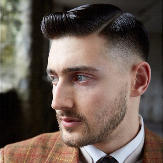 men, hair fashion, side part, hairstylespapacom -hairstyle-side-part
