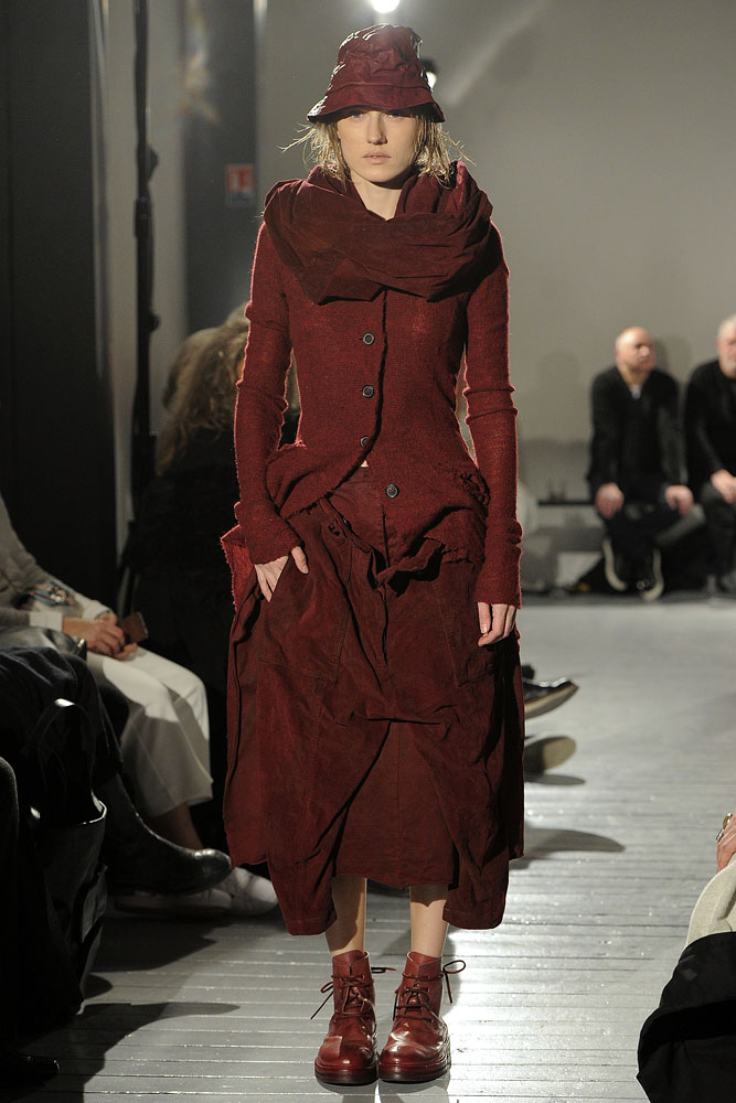 Rundholz , rust-red, a/w 2015