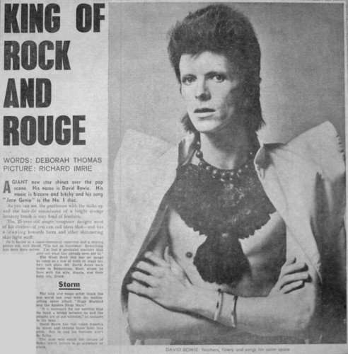 david bowie, king of rock and rouge, fanpopcom ziggy-stardust-ziggy-stardust