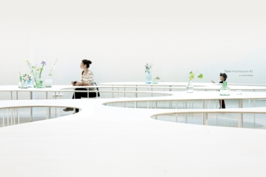 furnitecture-furniture-that-transforms-space, cooperative work tables