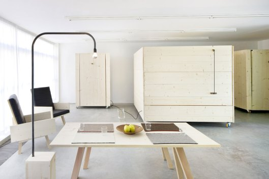 furnitecture, studio house, by harry thaler.it,