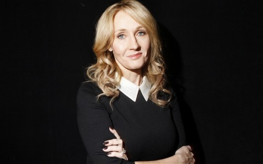 JK Rowling, portrait, telegraph uk