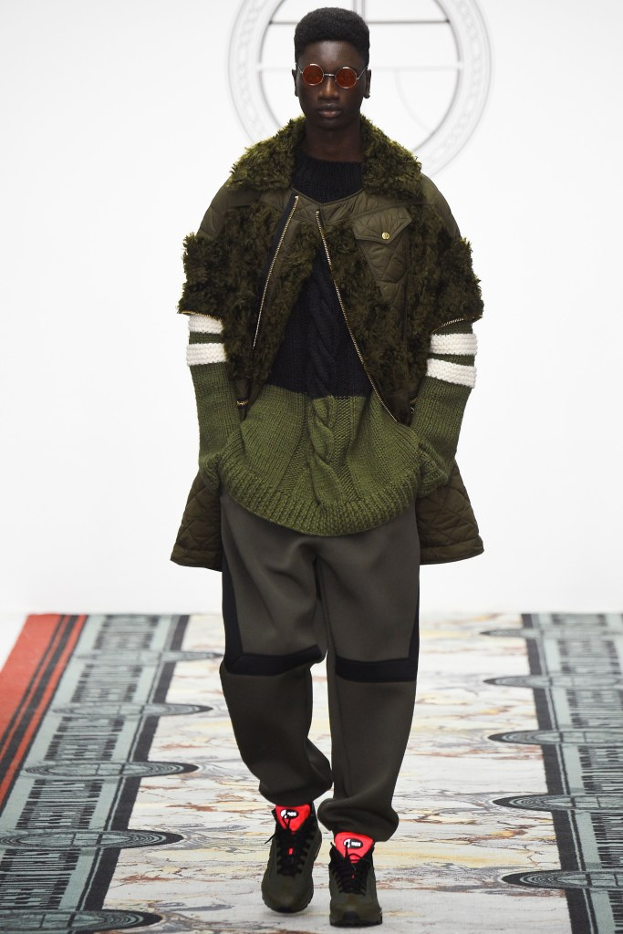 LCM, astrid andersen, green mixed fabrication, voguecom