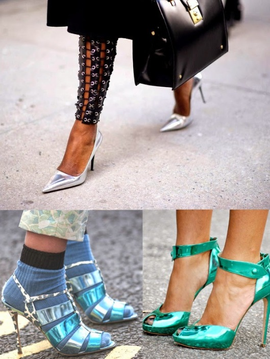 metallic-shoes, fashionforwomancom
