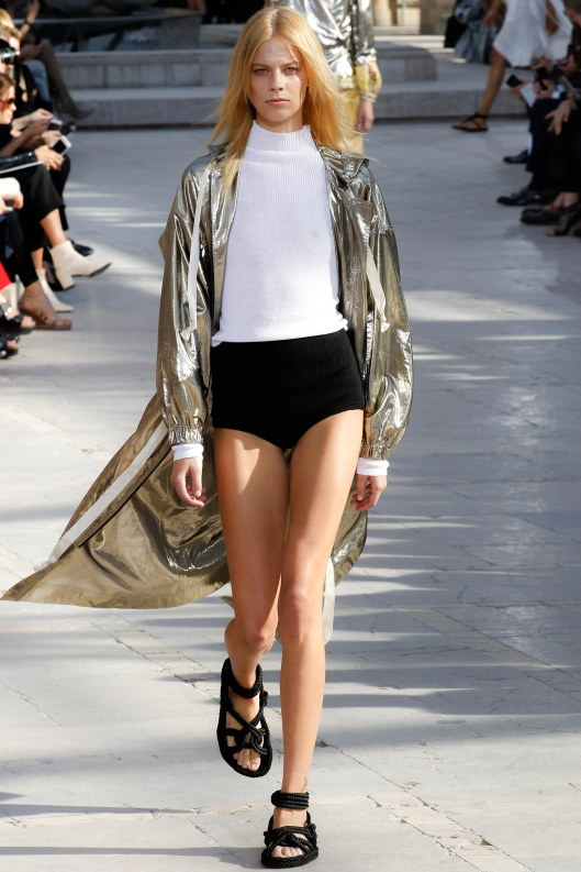 metallics, cover up, isabel marant, s16, voguecom