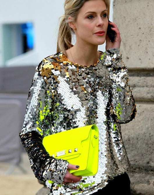 metallics, sequins, top, silver, glamradar.com sequined-silver-top