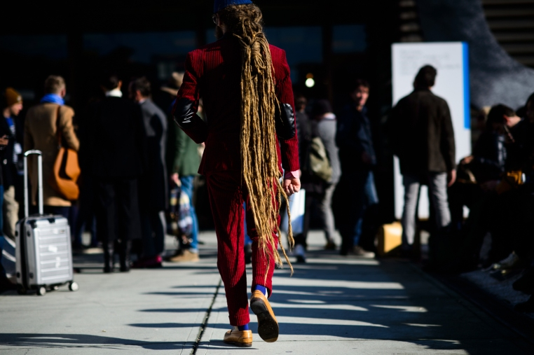 pitti uomo street, dreds, all about the hair, wmg