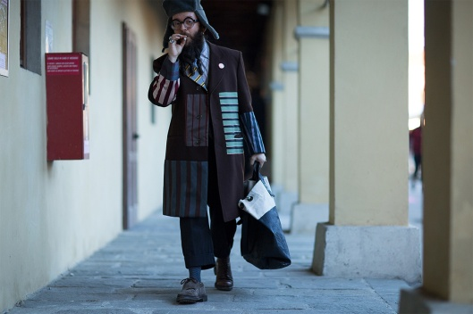 pitti-uomo street, highsnobiety, pacthwork, coat -89-fall-winter-2016-street-style-