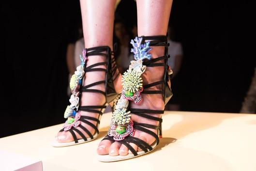 shoe spotlight, s16, under the sea footwearnewscom sophia-webster-shoes-spring-2016