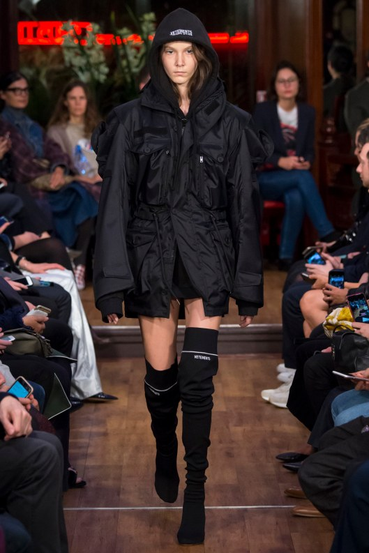 shoe spotlight, thigh high sock-boots, vetements, s16, vogue