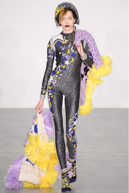 lfw, f16, sparkly onesie, sibling vogue uk