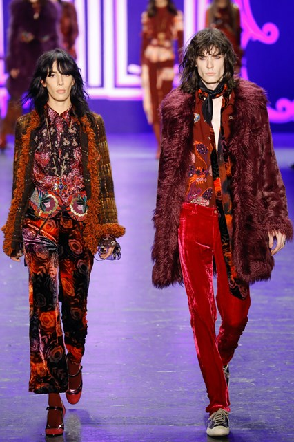 NYFW a 16, a groove thing, anna sui, vogue uk