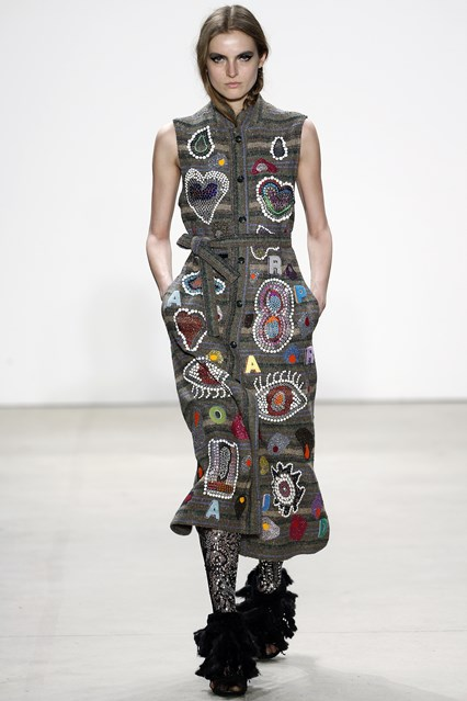 NYFW, a16 libertine, bedazzled, vogue uk_