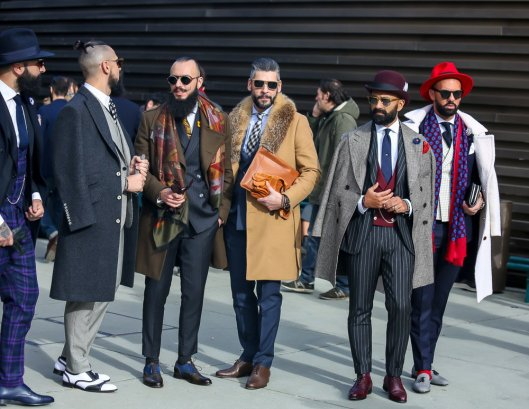 street style, men, peacock parade, manofmany.com Pitti-Uomo-Day