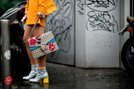accessories, how to, sparkly silver boots, ornate bag, elle uk street-style-milan-fashion-week-day-6-imaxtree_0667__large