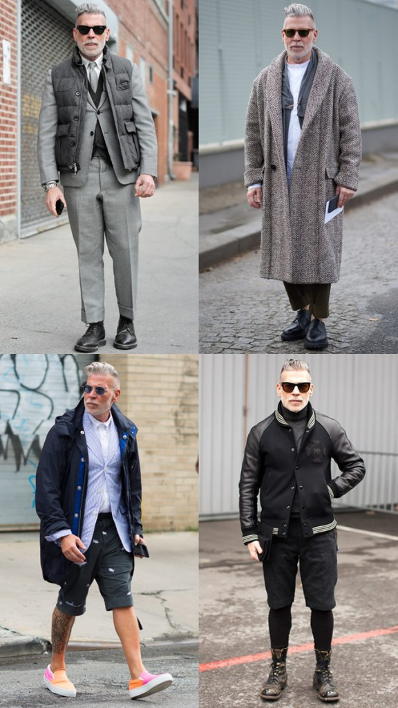higher concept outfit, men, fashionbeans, nick wooster, layering
