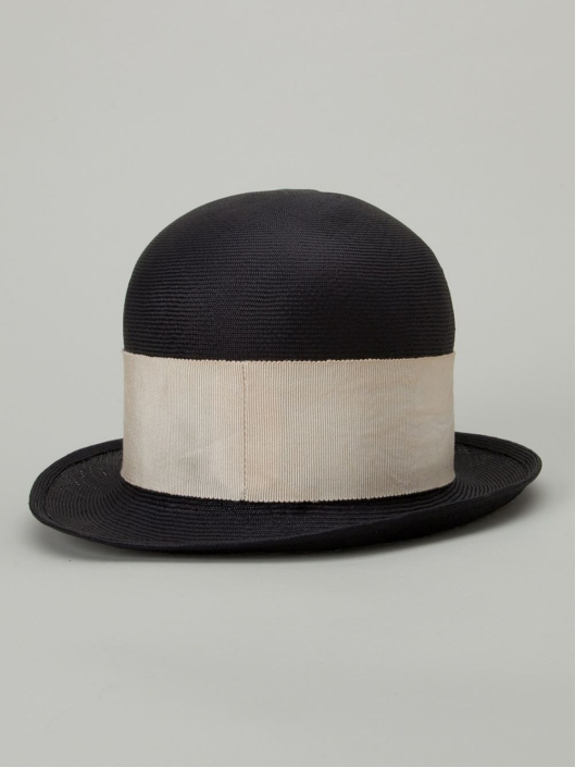 horisaki- hats, high top_wide band, lyst design-handel-black-contrasting-band-hat-