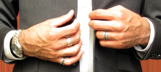 maximalist, stacked rings, men, bovarjewlery.com men