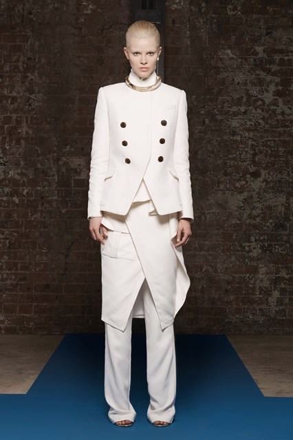 pfw, a16, camilla and marc, new take on white tux