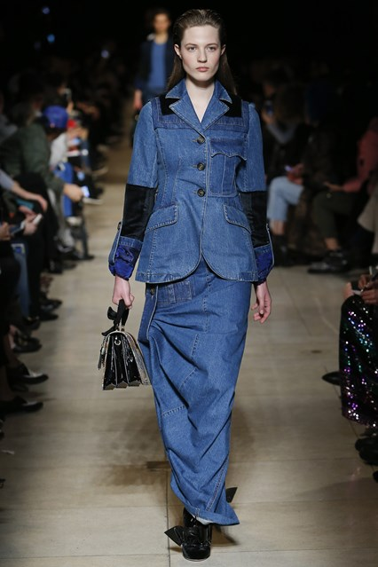 pfw, a16, miu miu, denim of an edwardian_