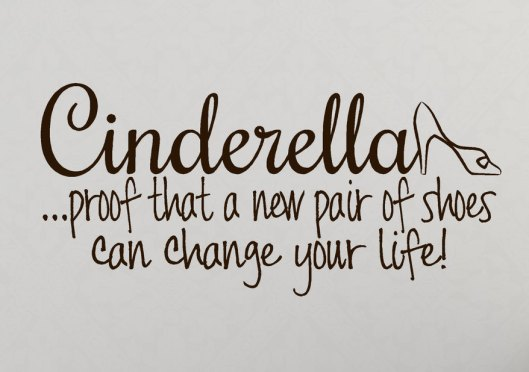quote, cinderella, proof pr of shoes can change your mind, use, il_fullxfull