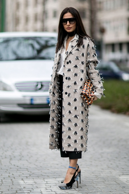 shoes, woman, shoe crush, plaform heels, floral, black.powder blue, fashionising MilanFashionWeekWomenFW16Day2StreetStyle12