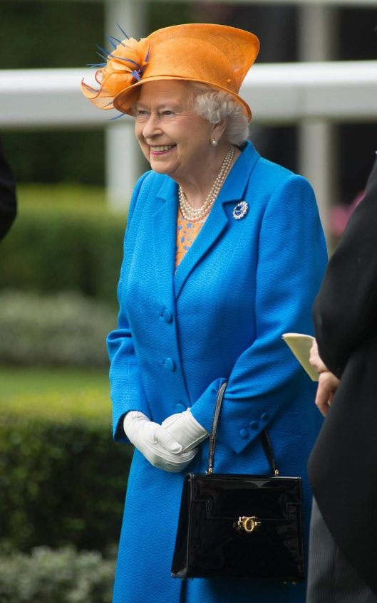 ascot, ladies day, 2016, queen, telegraph