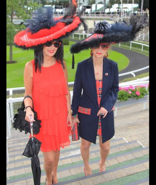 ascot, ladies day, 2016, tartan_feathers, express