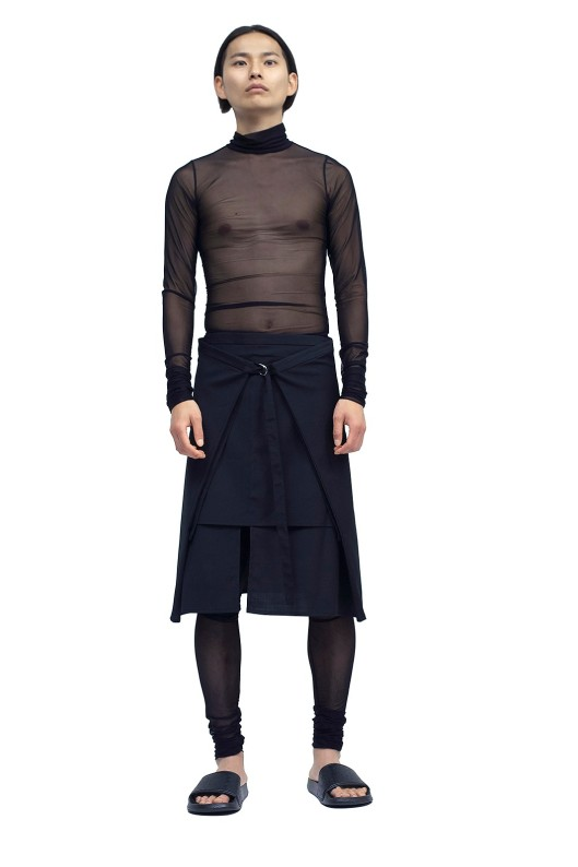 hermione-flynn, men, agender, theunconventional.co.uk -apron-skirt-blk-2