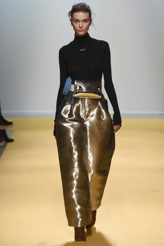off-white-gold-metallic-belt-bag-trousers-vogue-
